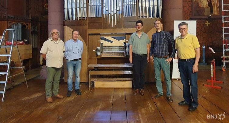 Nouvel orgue à l'Eglise rouge