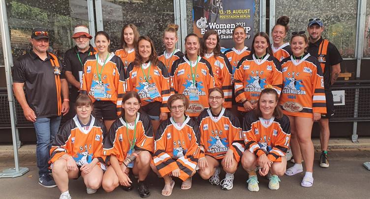 Les filles du SHC Rossemaison proches du podium européen