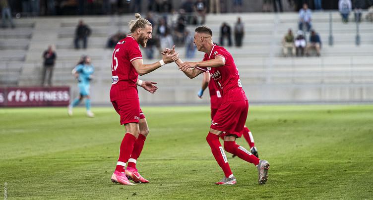 Le FC Bienne reste au contact du premier wagon