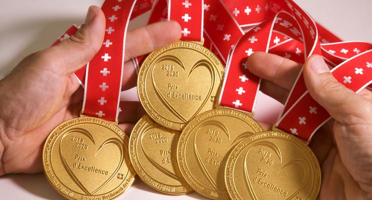 Une pluie de médailles pour récompenser le terroir