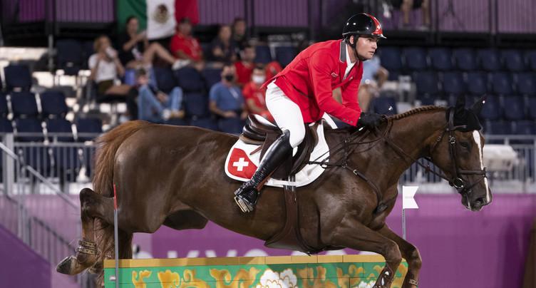 Le bond des cavaliers suisses