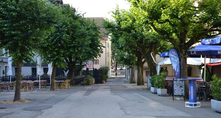 Le projet de zone de rencontre globalement soutenu à Delémont