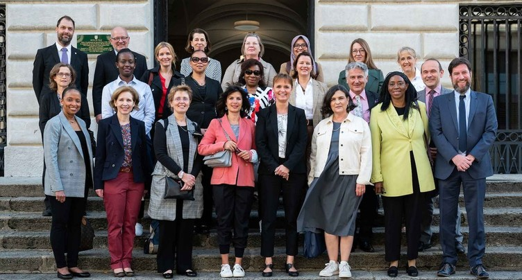 18 ambassadrices reçues à Neuchâtel