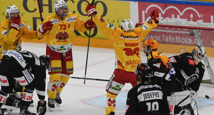 Le HC Bienne passe la cinquième