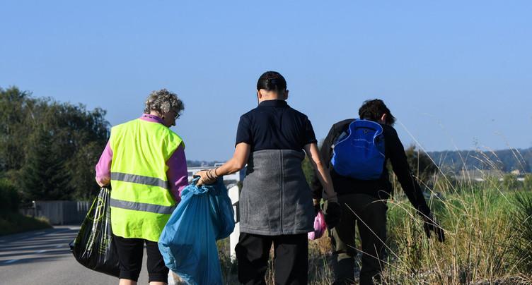Des citoyens ont traqué les déchets dans la région
