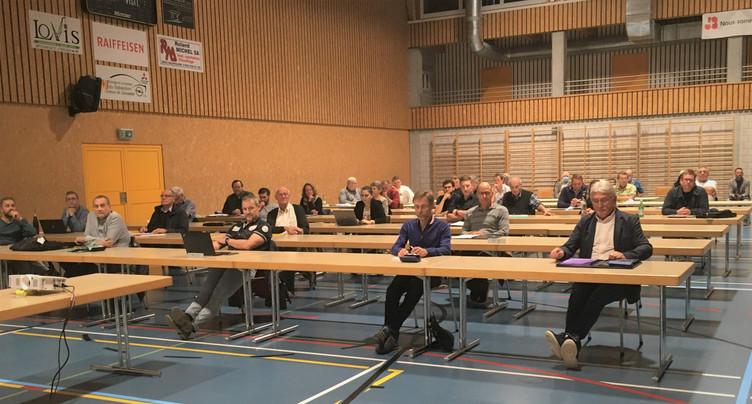 Séance sprint au Conseil général de Haute-Sorne