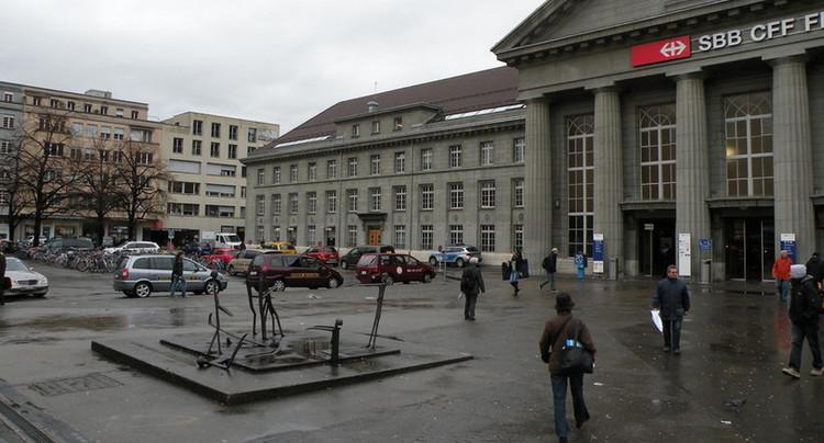 Rejet des mesures pour réduire le trafic devant la gare de Bienne