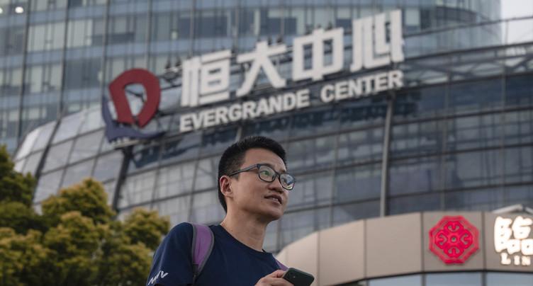 Les exportations pourraient souffrir d'une faillite d'Evergrande
