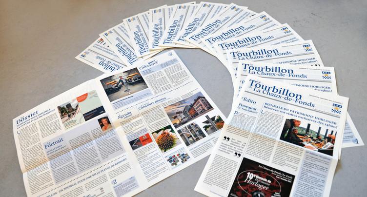 Le Tourbillon nouveau journal officiel de La Chaux-de-Fonds