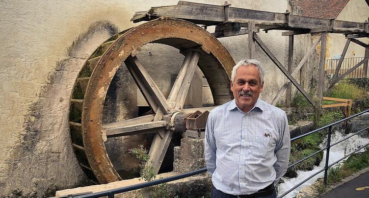 La roue du Moulin de St-Blaise va être remplacée