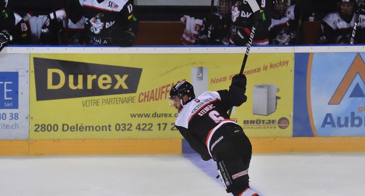Le HC Delémont-Vallée s'offre une bonne entrée dans le championnat