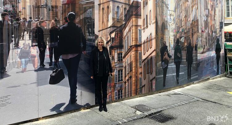 Une fresque géante au cœur de Neuchâtel