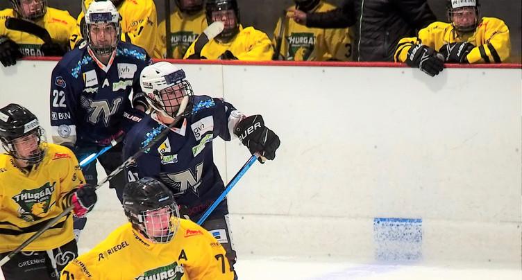 Victoire pour la Neuchâtel Hockey Academy