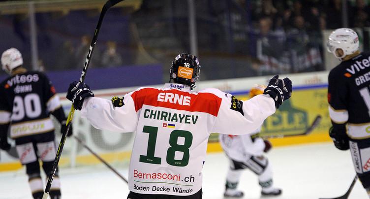 Evgenï Chiriaev : « Rien n'est fini avec le HCC »