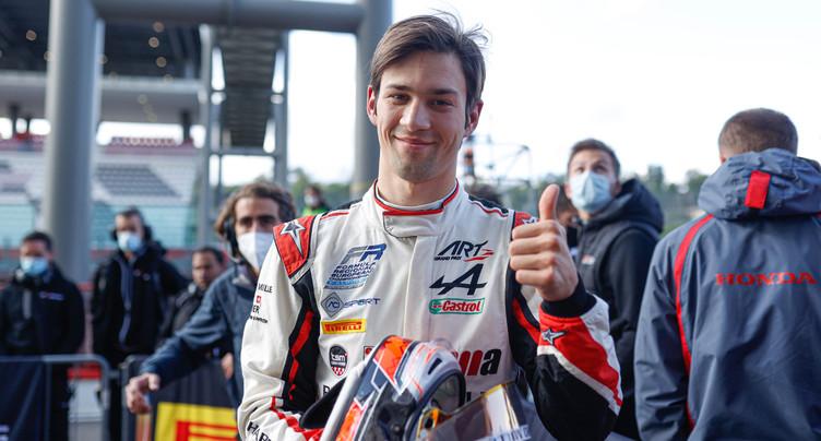 Après le titre, un podium pour Grégoire Saucy