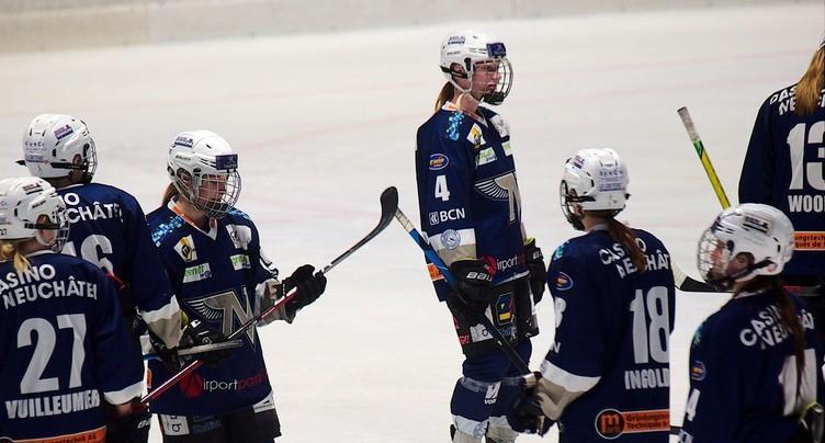 Défaite pour la Neuchâtel Hockey Academy