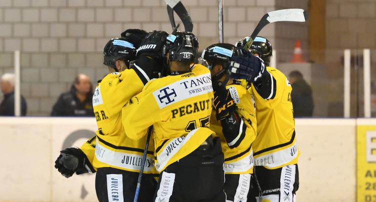 Le HC St-Imier renoue avec la victoire