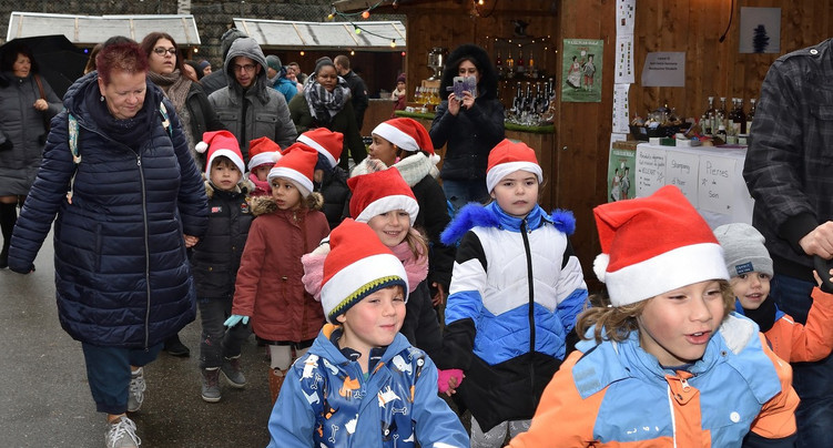 Le marché de Noël de retour à Moutier
