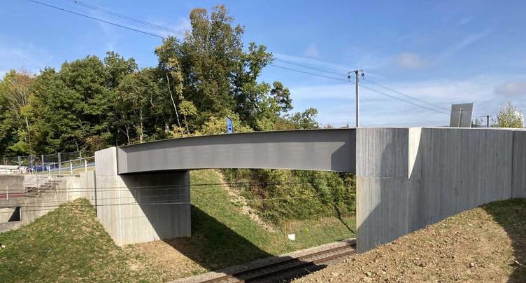 Une nouvelle vie commence pour le pont du Bois-Coinchiez