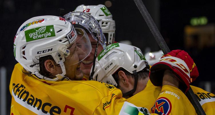 Le HC Bienne remporte le choc au sommet
