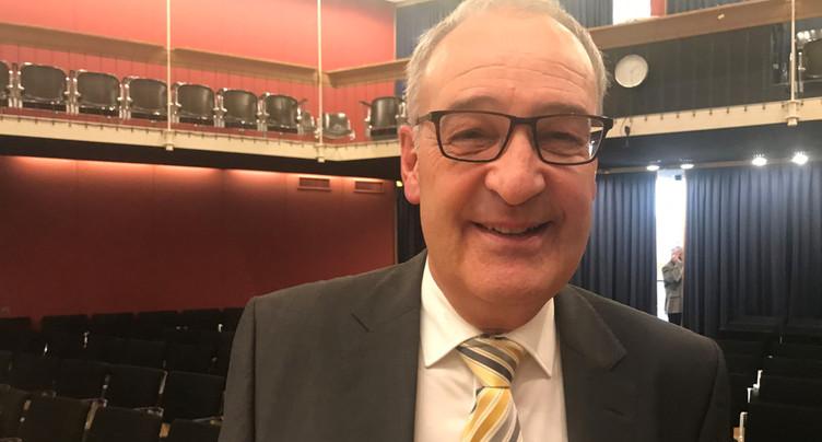 Guy Parmelin à La Chaux-de-Fonds