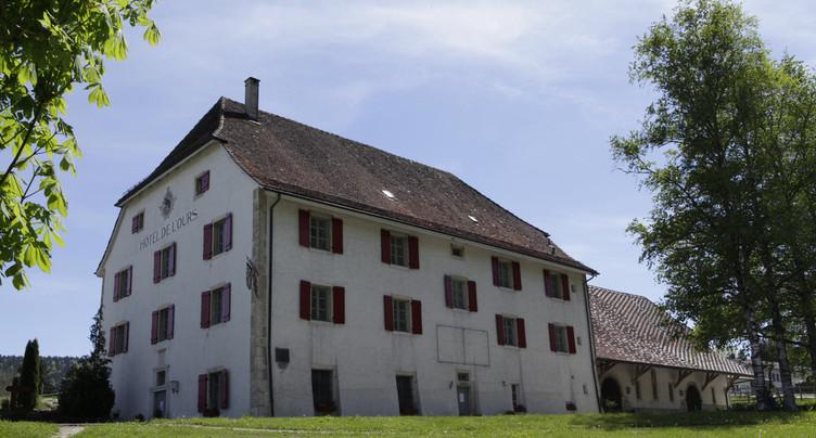 Bellelay : l'Hôtel de l'Ours sous la loupe d'un archéologue