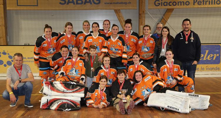 Les dames du SHC Rossemaison vice-championnes de Suisse