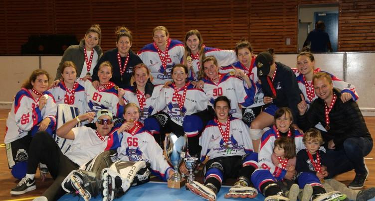 L'équipe féminine de Bienne Seelanders championne de Suisse !