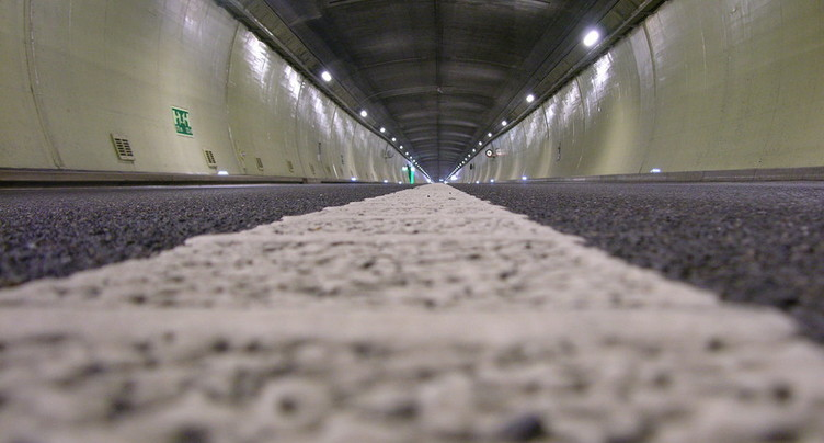 Le tunnel entre Courrendlin et Choindez est fermé