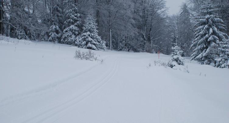 Davantage de soutien pour les pistes de ski de fond du canton de Berne