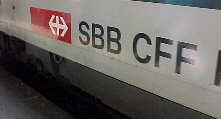 Trains perturbés entre La Neuveville et Cressier