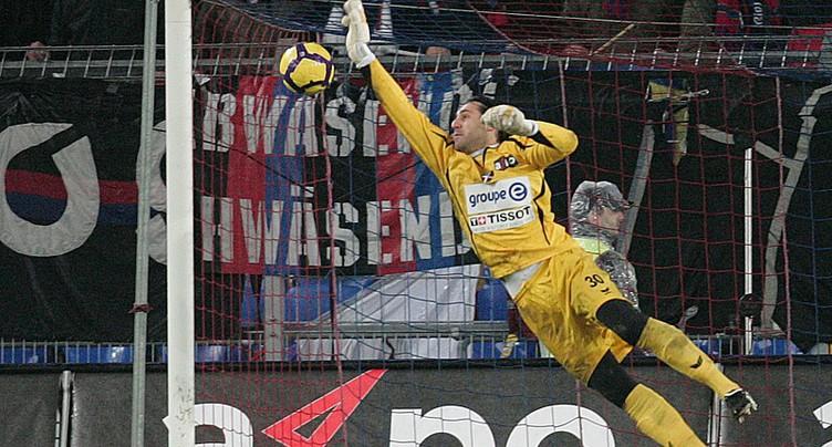 Luca Ferro sur la feuille de match contre Servette