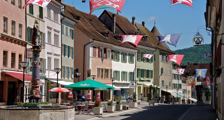 Le terroir suisse à l'honneur à Delémont