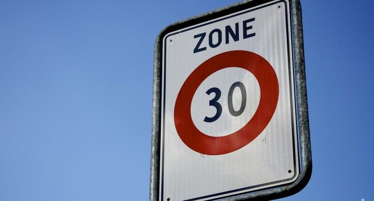 Nouvelle zone 30 km/h à Bienne