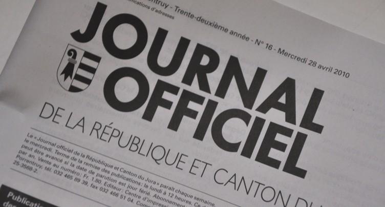 Journal officiel : le Parlement jurassien tient au papier