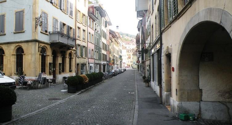 Travaux en vue en vieille ville de Bienne