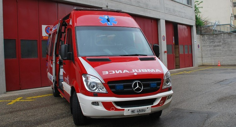 Nouvelle ambulance pour le SIS de Neuchâtel