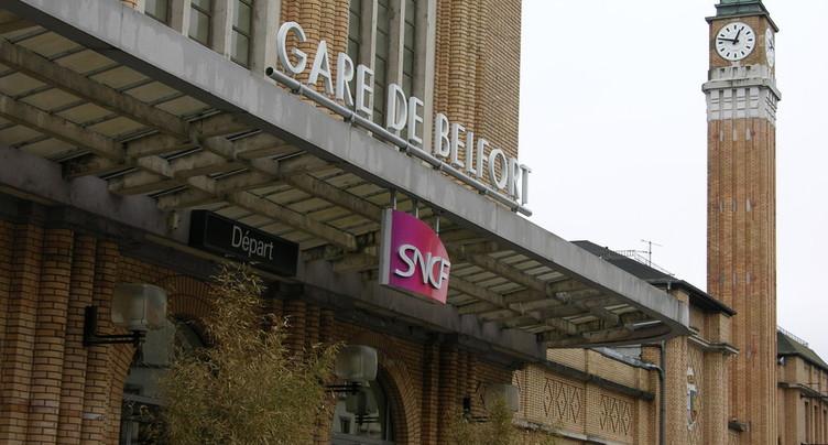 Les trains suisses n'iront pas jusqu'à Belfort-ville