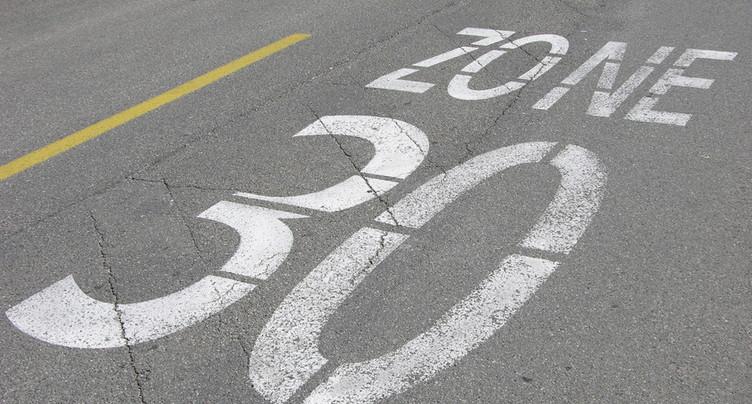 Un trottoir et une zone 30km/h à la rue Arrière à Bienne