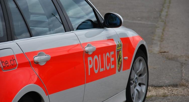 Accident entre Sonceboz et La Heutte