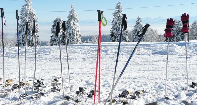 Camp de ski sauvé