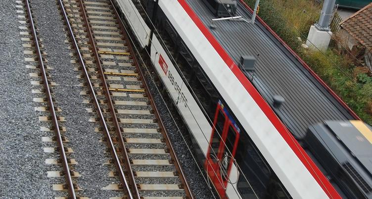 Trafic ferroviaire perturbé entre Neuchâtel et Travers