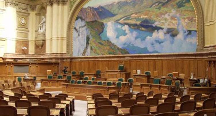 Un classement place les élus de l'Arc jurassien parmi les moins influents du Parlement