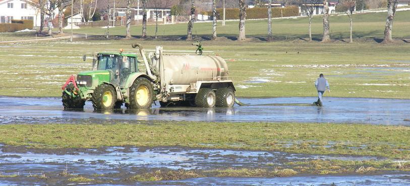 La fuite a eu lieu sur l'exploitation agricole du Pré-Monsieur à Môtiers