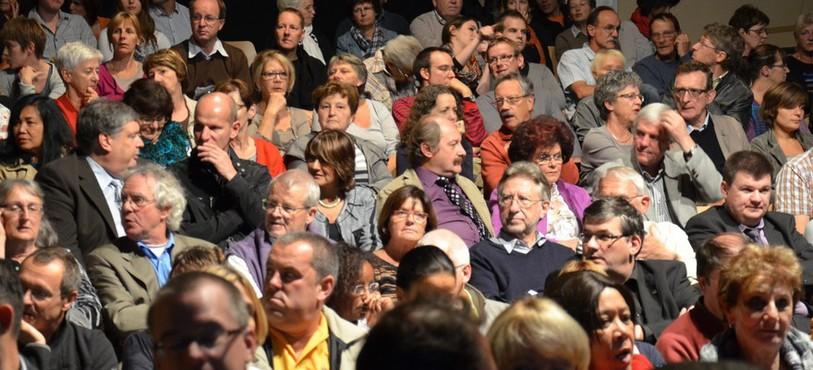 Delémont Hollywood 2012 - le public à la soirée de clôture