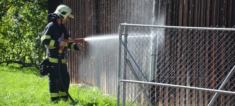 Début d'incendie à Tavannes