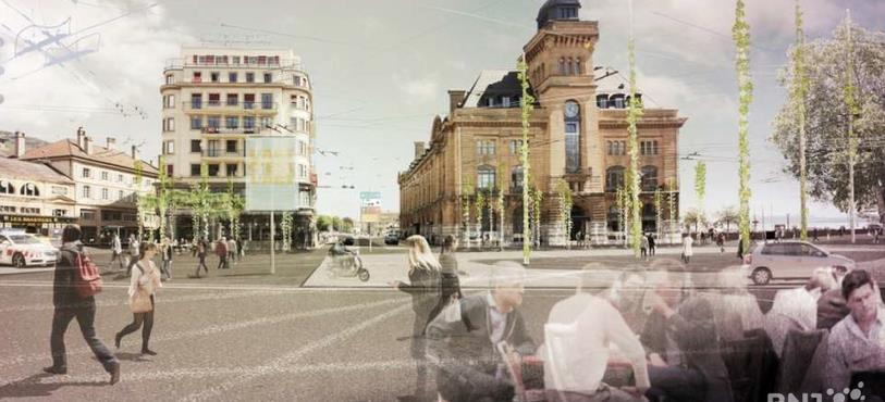 Place Numa-Droz (image de paysagestion)