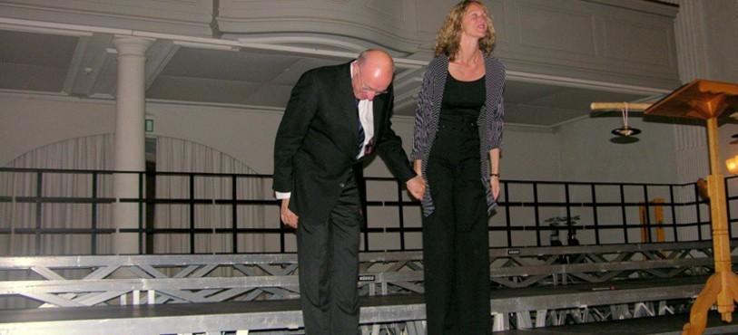 Michael Radulescu et Pia Hansen