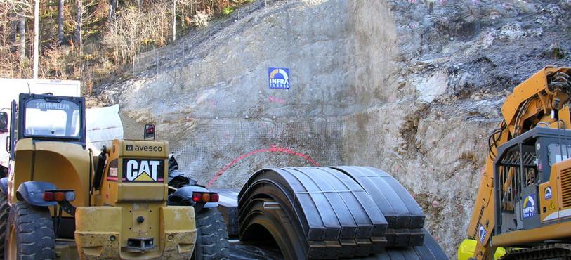 Les travaux d'excavation peuvent commencer sur le chantier du tunnel du Bois des Rutelins.