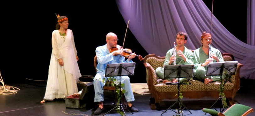 Solam et les musiciens